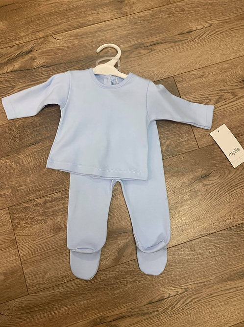 Rapife Boys Blue Top and Trousers Set