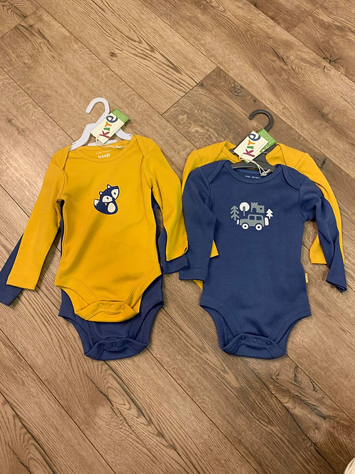 Kite 2 pack Mustard and Navy