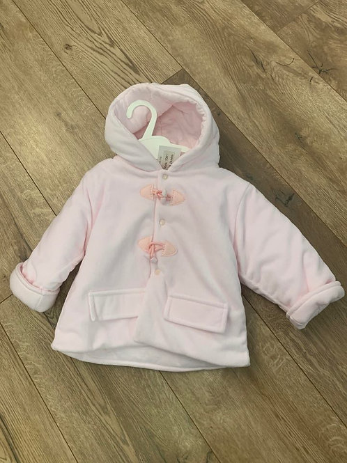 Little Nosh Pink Duffle Coat