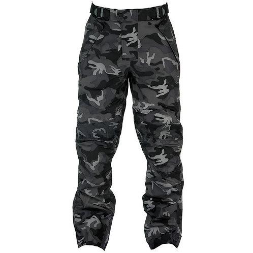Spada Flage Textile Trousers Grey Camo