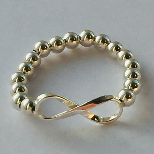 Stretchy Infinity Ring