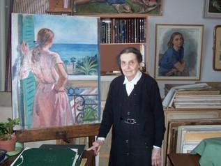 В Париже скончалась художница Екатерина Серебрякова