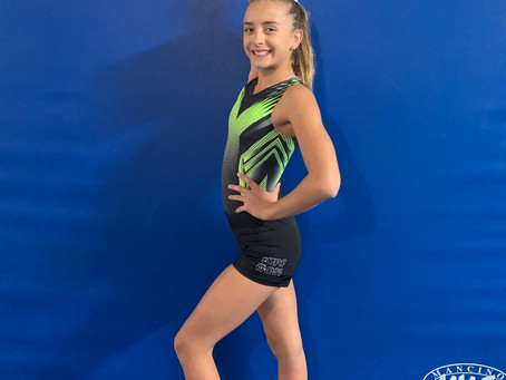 September Gymnast of the Month!