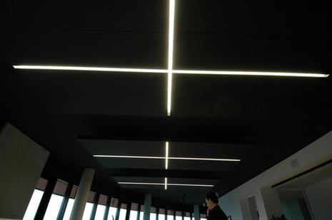 Acoustic ceiling island (© BURO B)