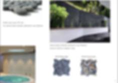 โมเสคหินกรวด , pebble mosaic , stone mosaic ,โมเสคหินธรรมชาติ , หินตกแต่งผนัง , หินธรรมชาติตกแต่ง , natural stone decor