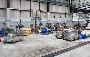 โรงงานผลิตหินโมเสค
