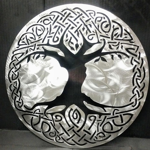 Cletic Knotwork Tree of Life cut out