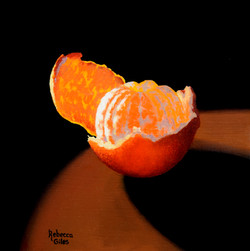 Peeling Mandarin