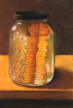 Jar of Honeycomb
