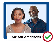 African American Adults age 45-75