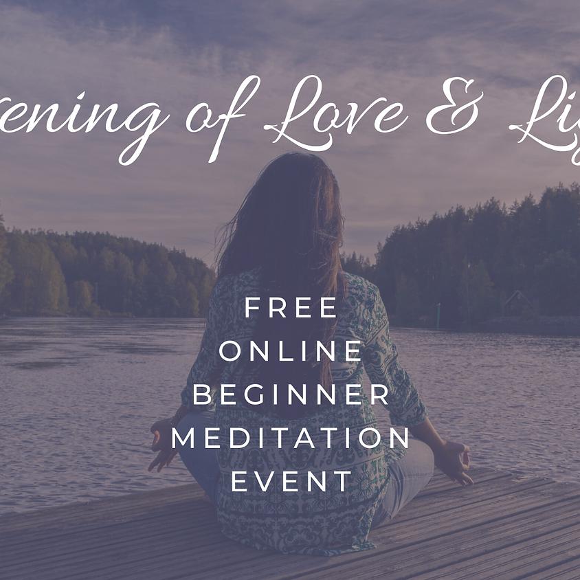 Evening of Love & Light: Online