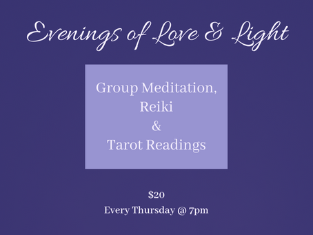 Evenings of Love & Light