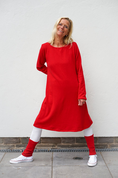Kleid in A-Form