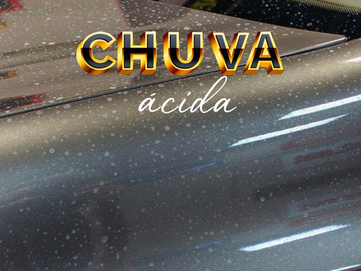 Saiba como proteger o seu carro da chuva ácida