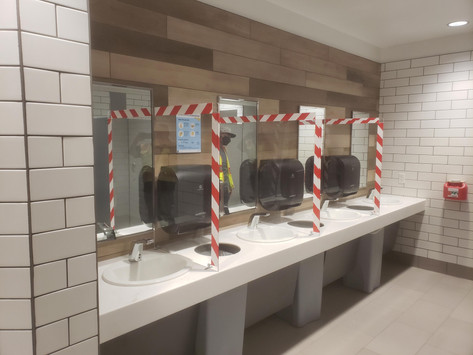 DTU3 Restrooms (COVID SAFE)