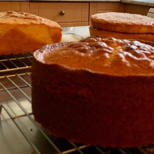 Freshly Baked Cakes