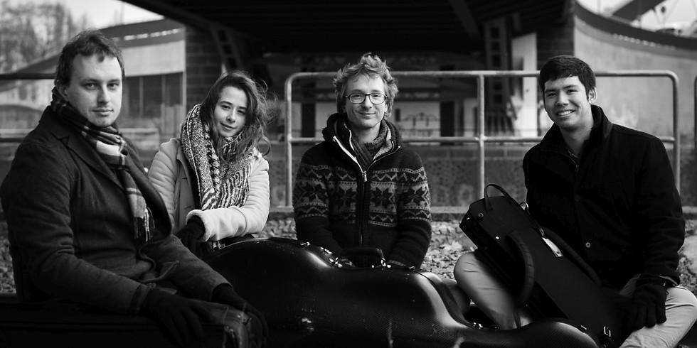 20:00 Uhr | Eliot Quartett, Bettina Kessler – Cello und Liisa Randalu - Viola