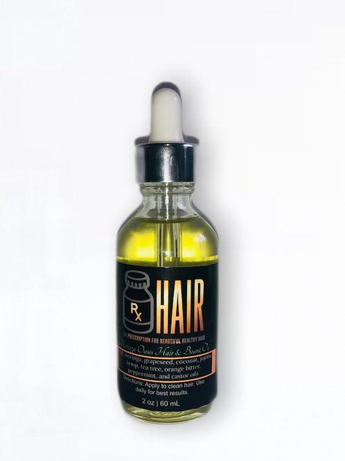 ORDER AT WWW.RXHAIRNATURALS.COM Moringa Oasis Hair and Beard Oil