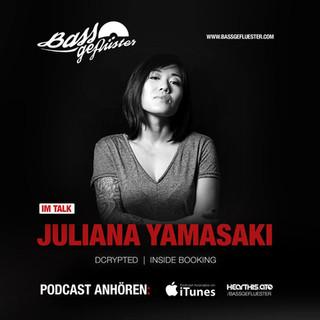 Bassgeflüster mit Juliana Yamasaki (Dcrypted | Inside Booking)