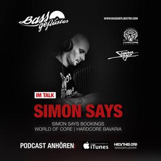 Bassgeflüster mit Simon Says (Simon Says Bookings)
