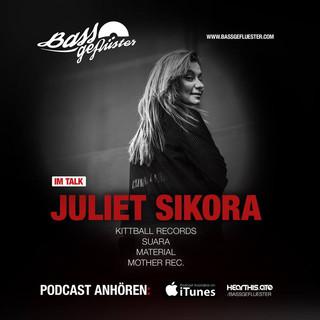 Bassgeflüster mit Juliet Sikora (Kittball Records)