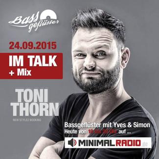 Bassgeflüster mit Toni Thorn (New Stylez)