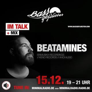 Bassgeflüster mit Beatamines (Einmusika)