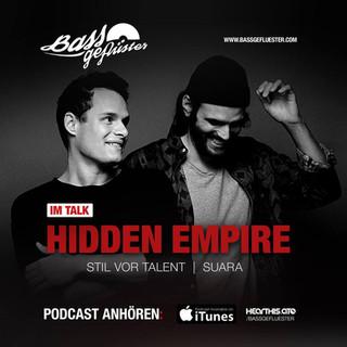 Bassgeflüster mit Hidden Empire (Stil vor Talent)