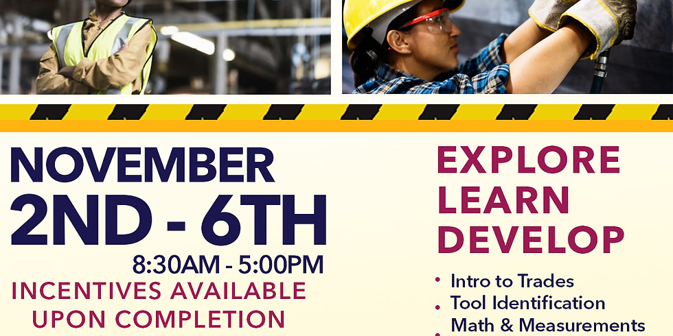 CHIC Women In Construction Pre Apprenticeship Pilot Week
