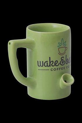 Coffee Pot Smokable Ceramic Mug Pipe