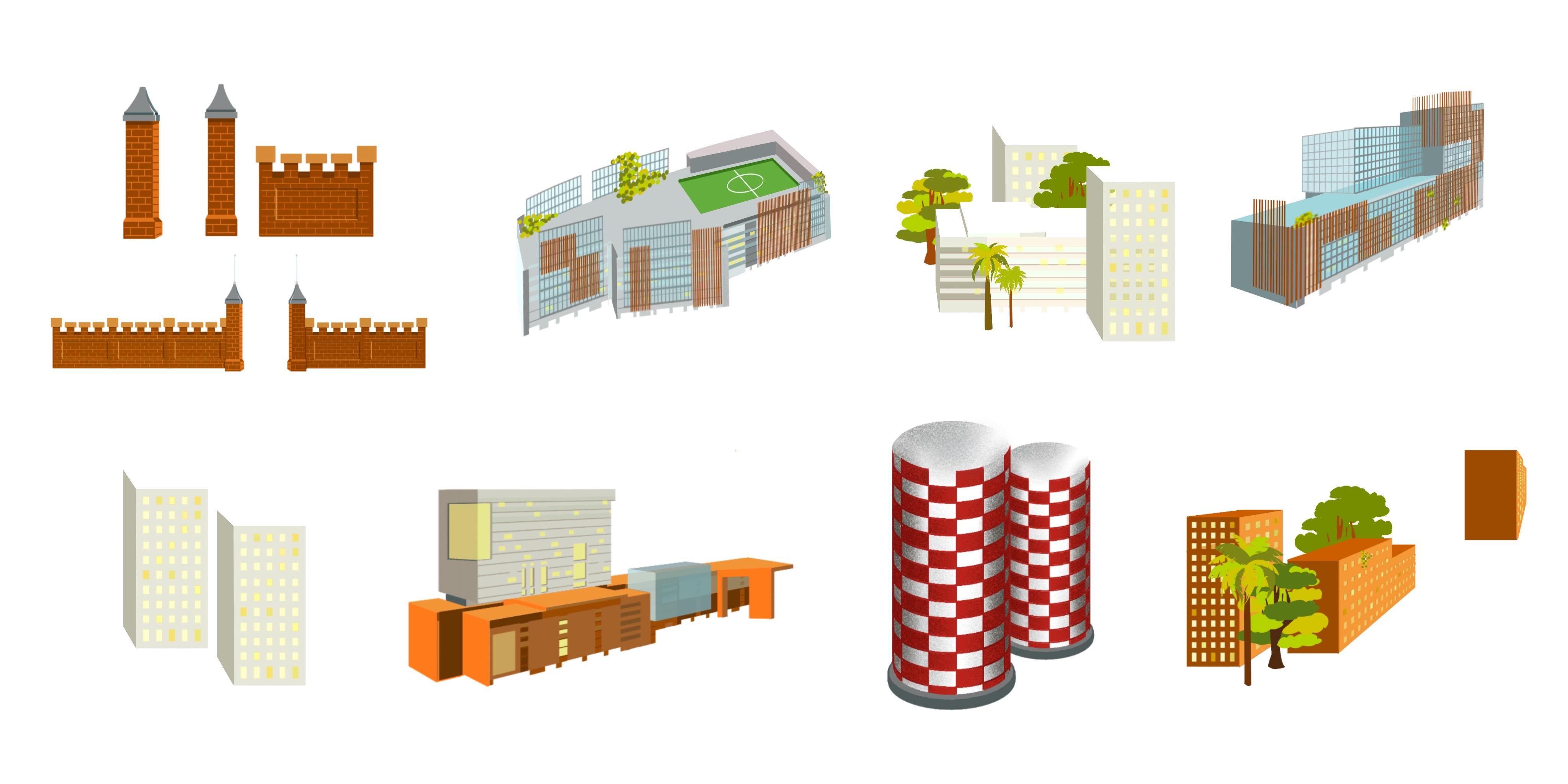 Perspective Buildings