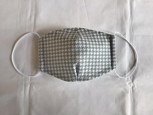 Maske PIERROT  - mit weicher Vlies-Einlage