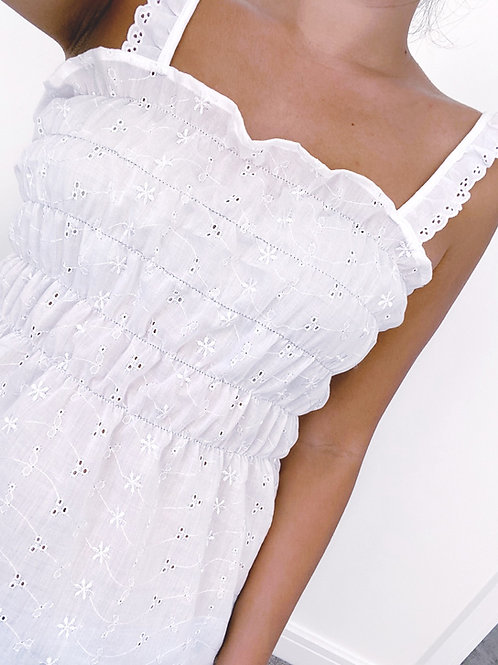 Lucy Broderie Anglaise Top