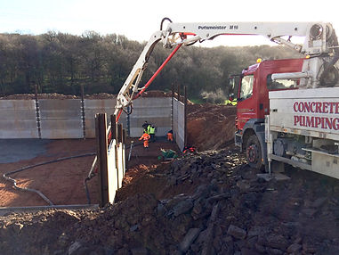 Concrete Pumping Derbyshire