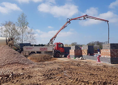 Concrete Pumping Staffordshire