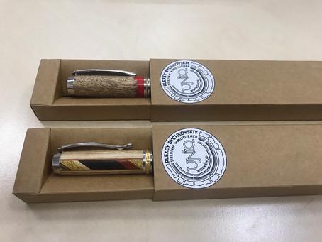 Наши ручки отправляются в Москву