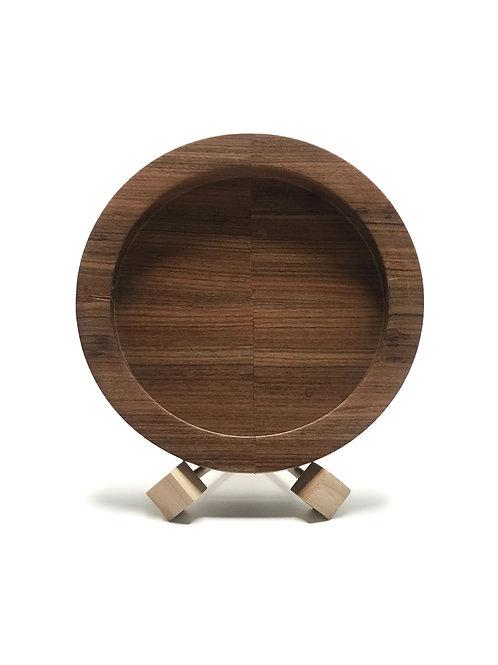 Деревянная тарелка(чаша)(древесина Rosewood)