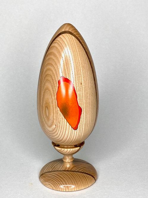 Яйцо из ценных пород дерева Дуб