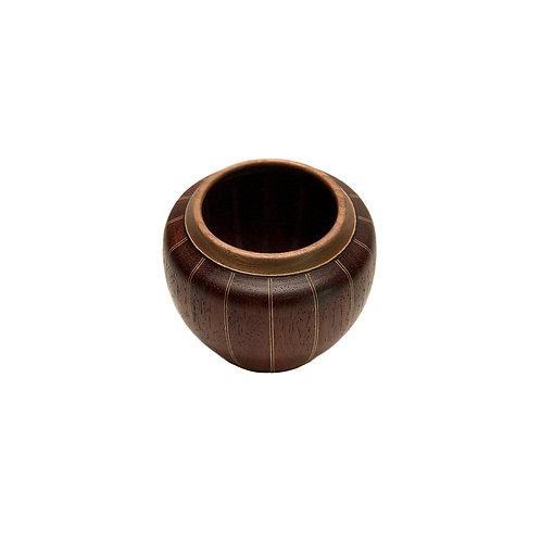 Деревянная ваза из ценных пород дерева(арт. 151)