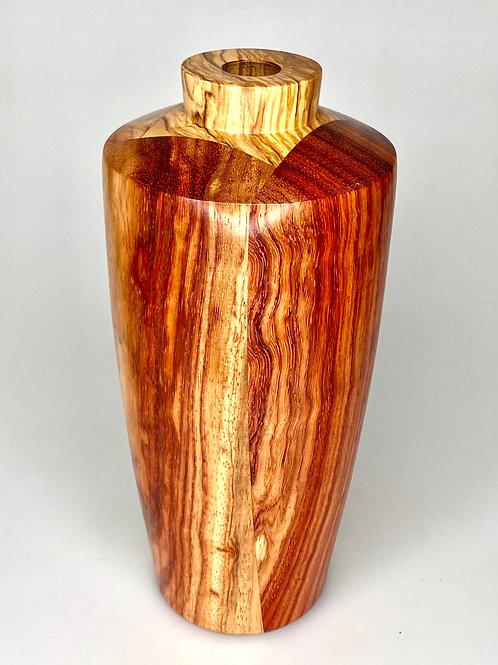 Деревянная ваза (Такула + Олива)