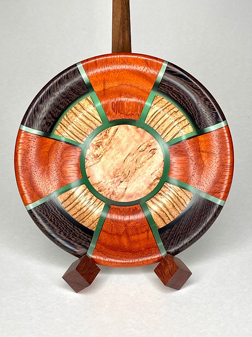 Деревянная чаша Тамаринд, орех, венге