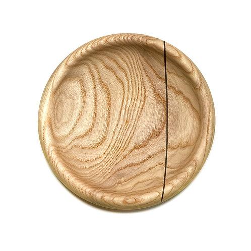 Деревянная тарелка(чаша)(Red Oak + Wenge)