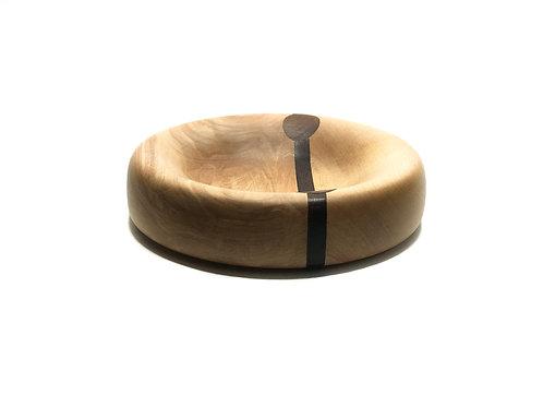 Деревянная чаша(тарелка)(Pear + Walnut)