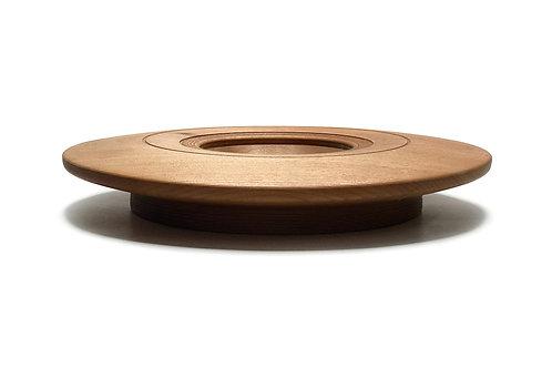 Деревянная тарелка(чаша)(Tigerwood)