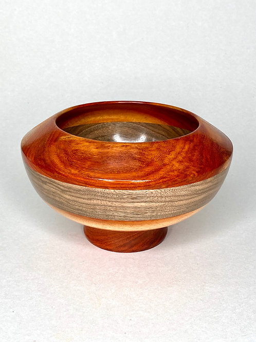 Чаша из ценных пород дерева Такула