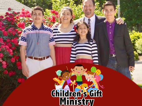 Yay! New Children's Gift Ministry Website Published.