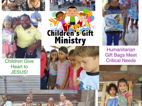 Children's Gift Ministry Bags / Dresses Distributed!