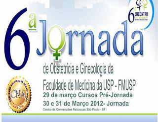 6a. JORNADA DE OBSTETRICIA E GINECOLOGIA DA USP