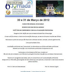 6a. Jornada de Obstetrícia e Ginecologia da USP - 2012