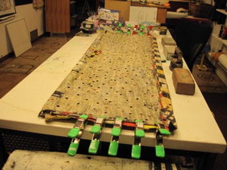 Detail Storage Unit, in Progress by Carol Ann Carter